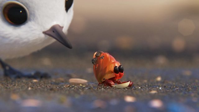 bernard hermite crab piper personnage character disney pixar