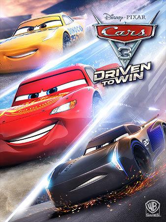 jaquette cars 3 driven to win jeu vidéo game disney pixar
