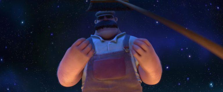 """Papà, personnage dans """"La Luna""""."""
