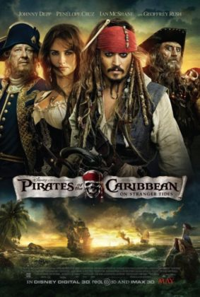 affiche poster pirate caraibes disney character caribbean fontaine jouvence stranger side
