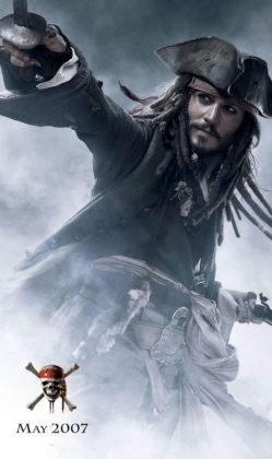 affiche poster pirate caraibes disney character caribbean jusqu au bout monde end world