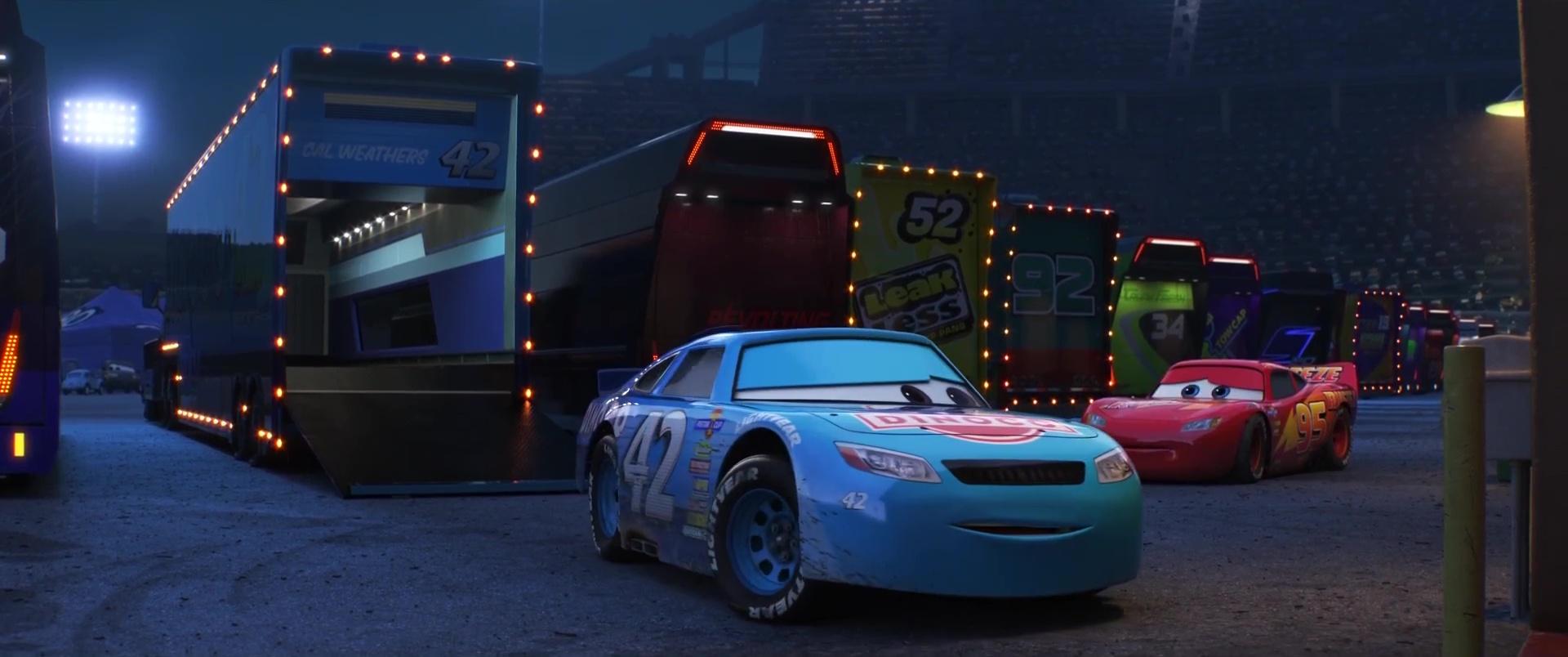 cal weathers personnage dans cars 3 pixar planet fr. Black Bedroom Furniture Sets. Home Design Ideas