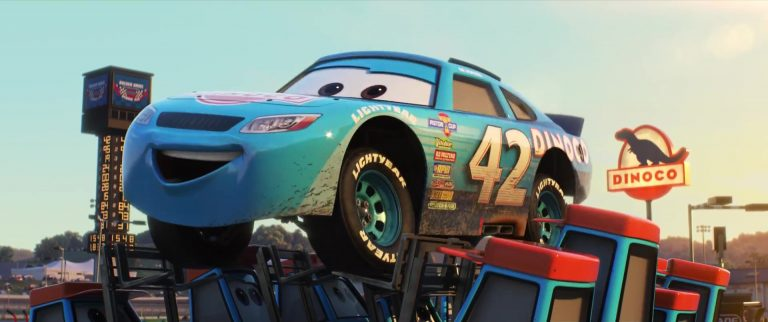 """Cal Weathers, personnage dans """"Cars 3""""."""