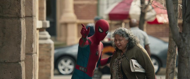 capture spider man homecoming poster marvel disney