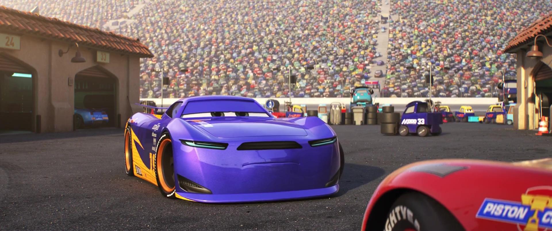 daniel danny swervez personnage dans cars 3 pixar planet fr. Black Bedroom Furniture Sets. Home Design Ideas