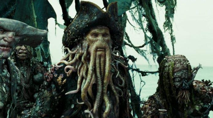 davy jones personnage character pirate caraibes secret coffre maudit dead man chest disney