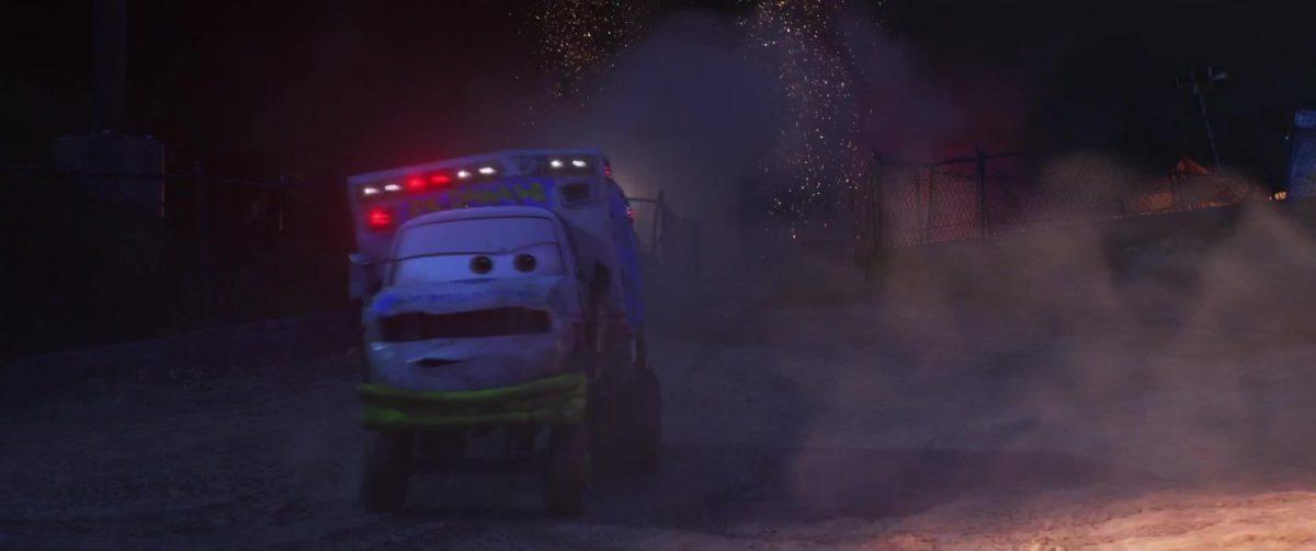 docteur damage personnage character cars disney pixar