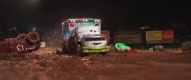 docteur damage  personnage character disney pixar cars 3