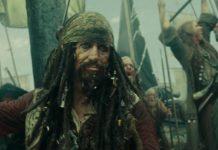 capitaine captain edward teague sparrow a personnage character pirate caraibes jusqu'au bout monde world end disney