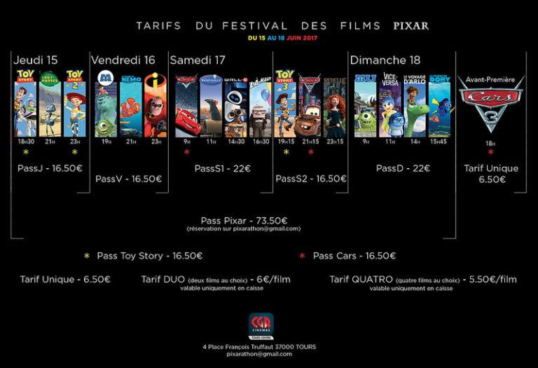 Le Festival des Films Pixar : le programme dévoilé !