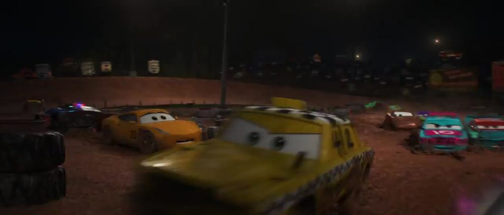 fishtail  personnage character cars 3