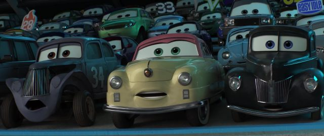 junior moon personnage character cars disney pixar