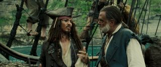 replique citation quote pirates caraibes caribbean jusqu'au bout monde world end disney