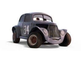 river scott personnage character cars 3 pixar disney