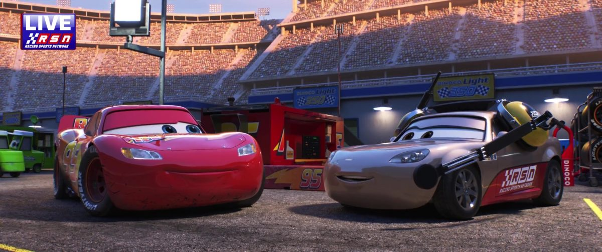 shannon spake personnage character cars disney pixar
