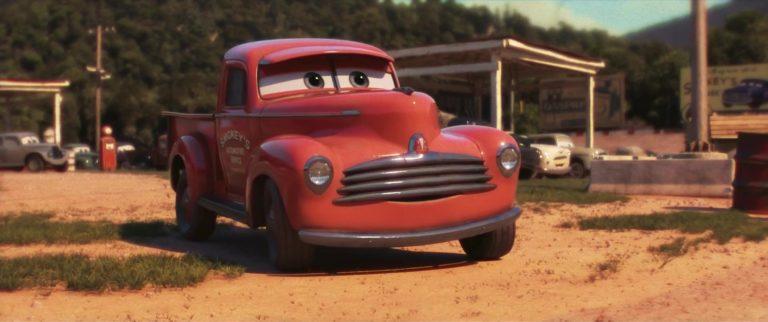 "Smokey, personnage dans ""Cars 3""."