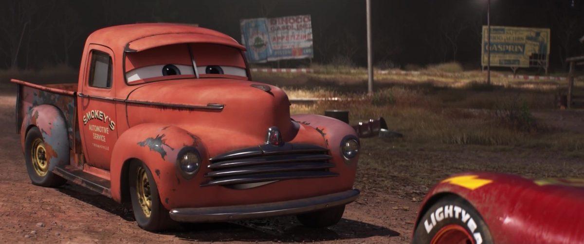 smokey personnage character cars disney pixar