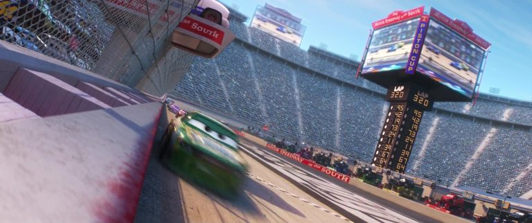 "Tommy Highbanks, personnage de ""Cars 3""."