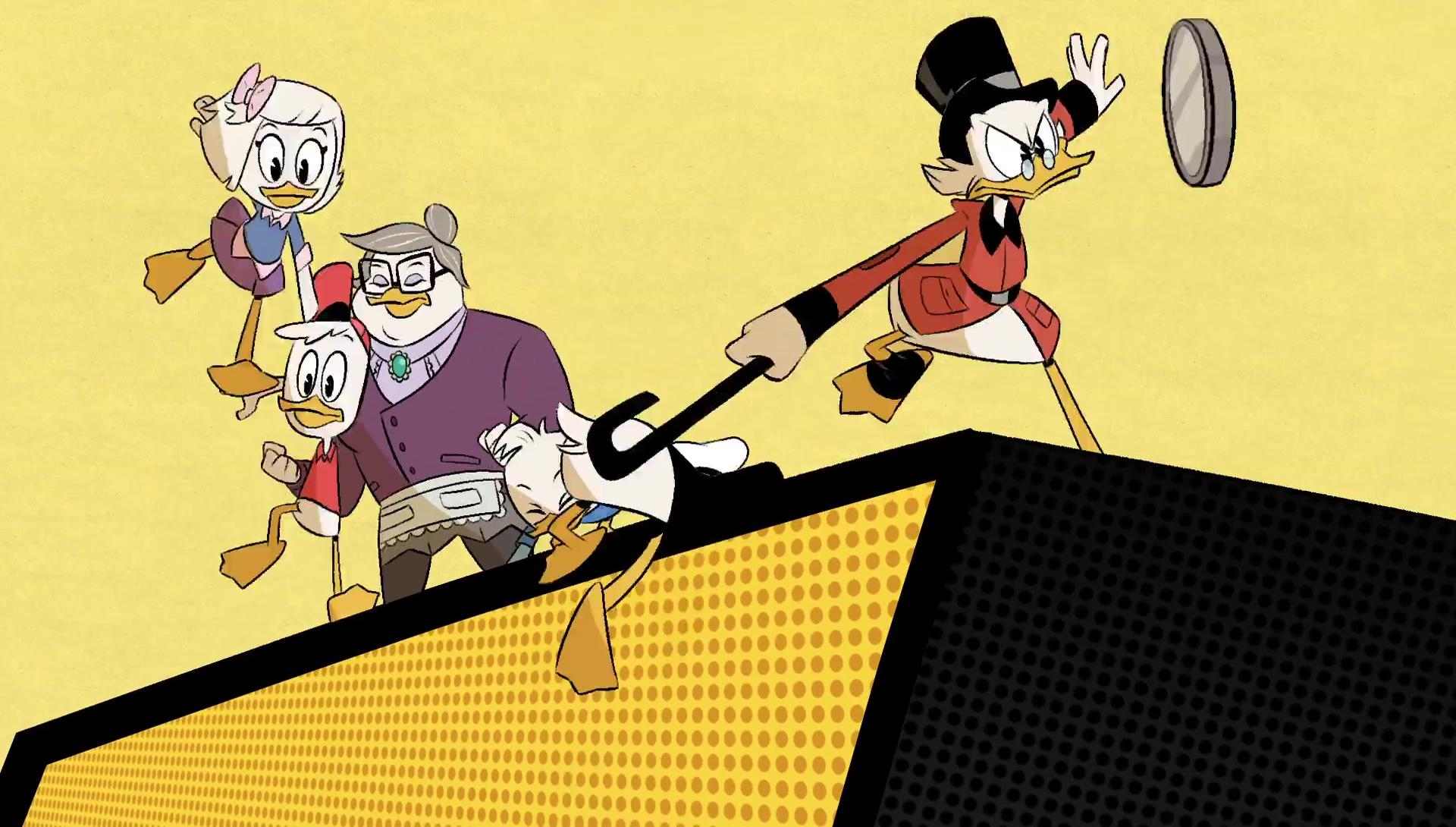 Disney La Bande à Picsou Ducktales reboot generique