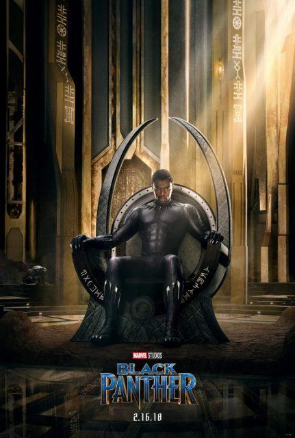 affiche black panther poster disney marvel