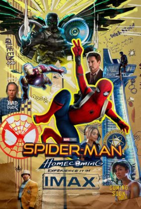 affiche poster spider-man homecoming disney marvel