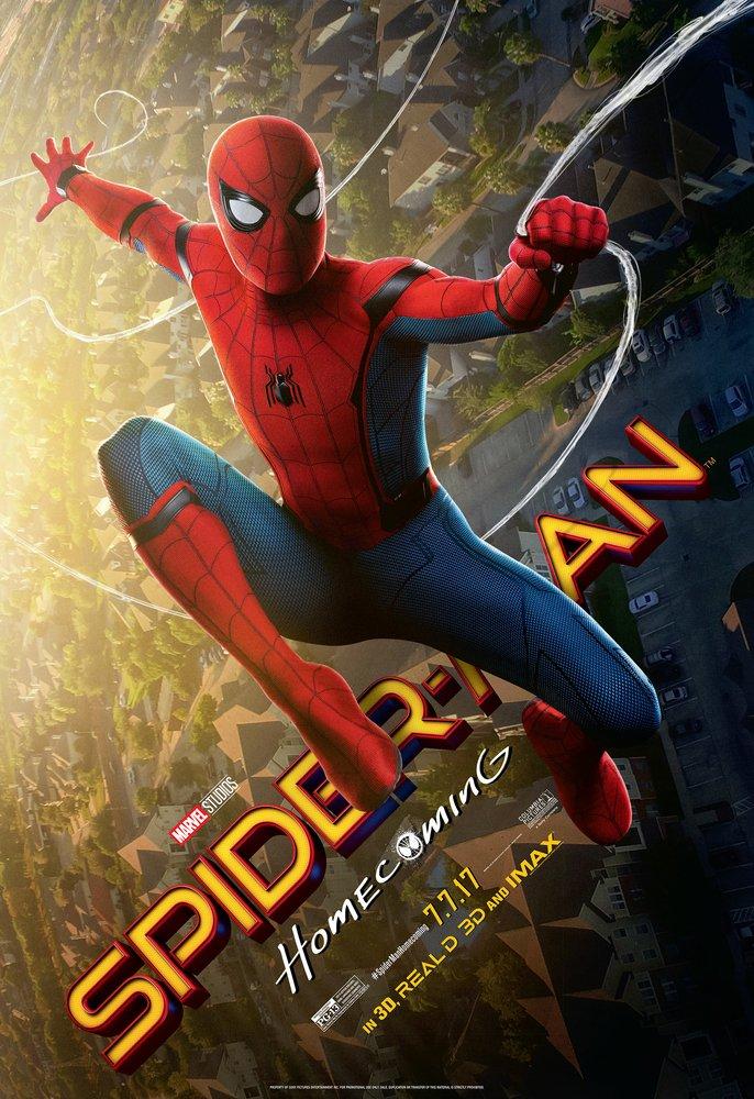 affiche poster spider-man homecoming disney marvel