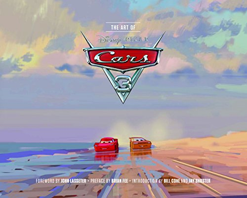 art of cars 3 livre book pixar disney