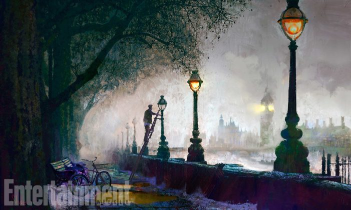 artwork mary poppins returns disney pictures