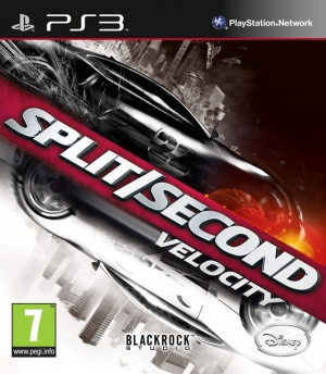 Disney jeu video disney interactives studios split second velocity