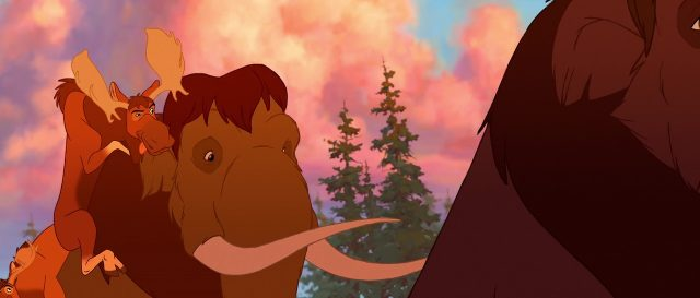 tuke truc personnage character disney frère ours brother bear