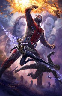 affiche ant-man guepe wasp disney marvel poster