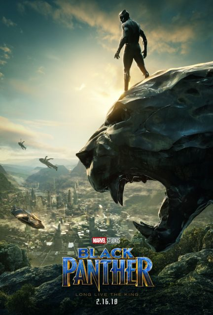 affiche black panther poster disney marvel