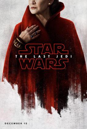 affiche poster star wars 8 dernier jedi last disney lucasfilm