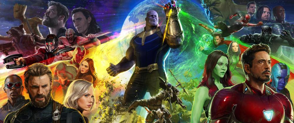 avengers infinity war disney marvel affiche poster
