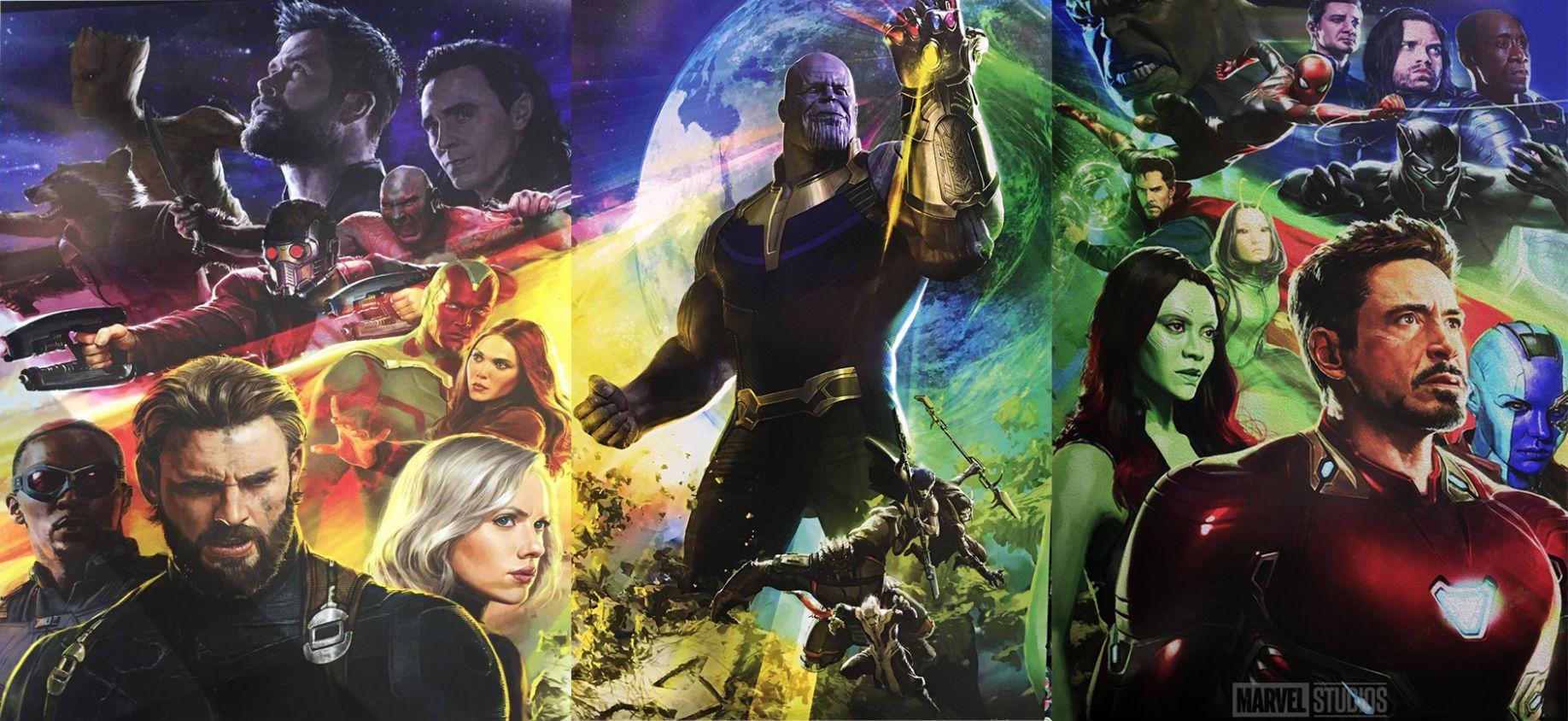 artwork avengers infinity war disney marvel affiche poster