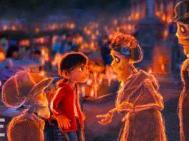 pixar disney artwork coco