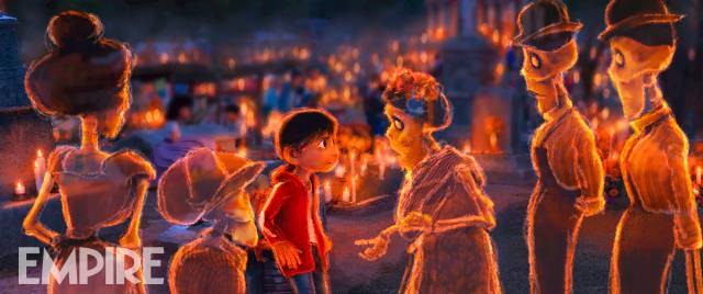 pixar disney artwork coco