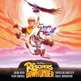 bernard bianca pays kangourous bande originale soundtrack disney Rescuers Down Under