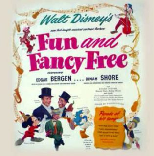 disney bande originale soundtrack coquin printemps fun fancy free