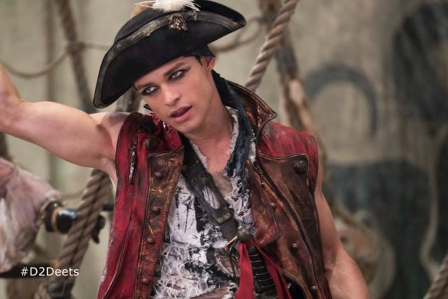 harry personnage descendants 2 character disney channel