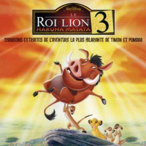 disney bande originale soundtrack roi lion 3 king