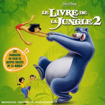 livre jungle 2 bande originale jungle disney soundtrack