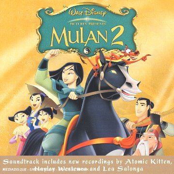 mulan 2 mission empereur bande originale disney soundtracke