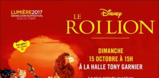 roi lion lyon festival lumiere disney
