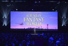 suburban fantasy world pixar disney