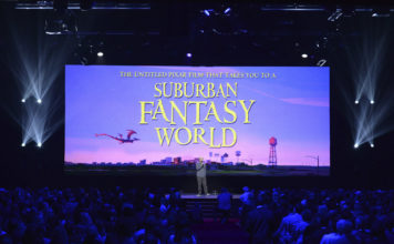 suburban fantasy world pixar disney