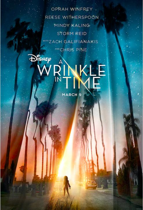 wrinkle time disney affiche