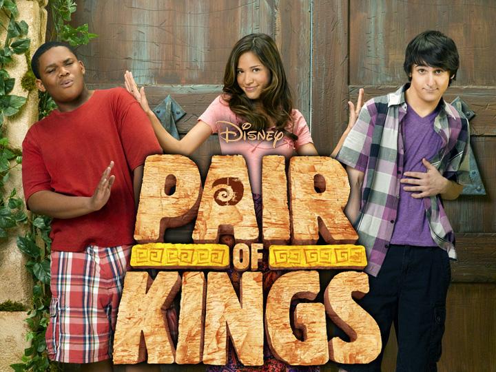 Paire de rois Disney XD serie