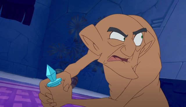 Disney Rudy personnage dans Kuzco