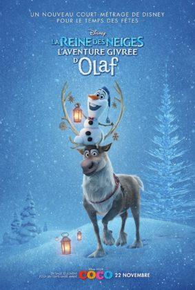 affiche olaf frozen adventure disney poster